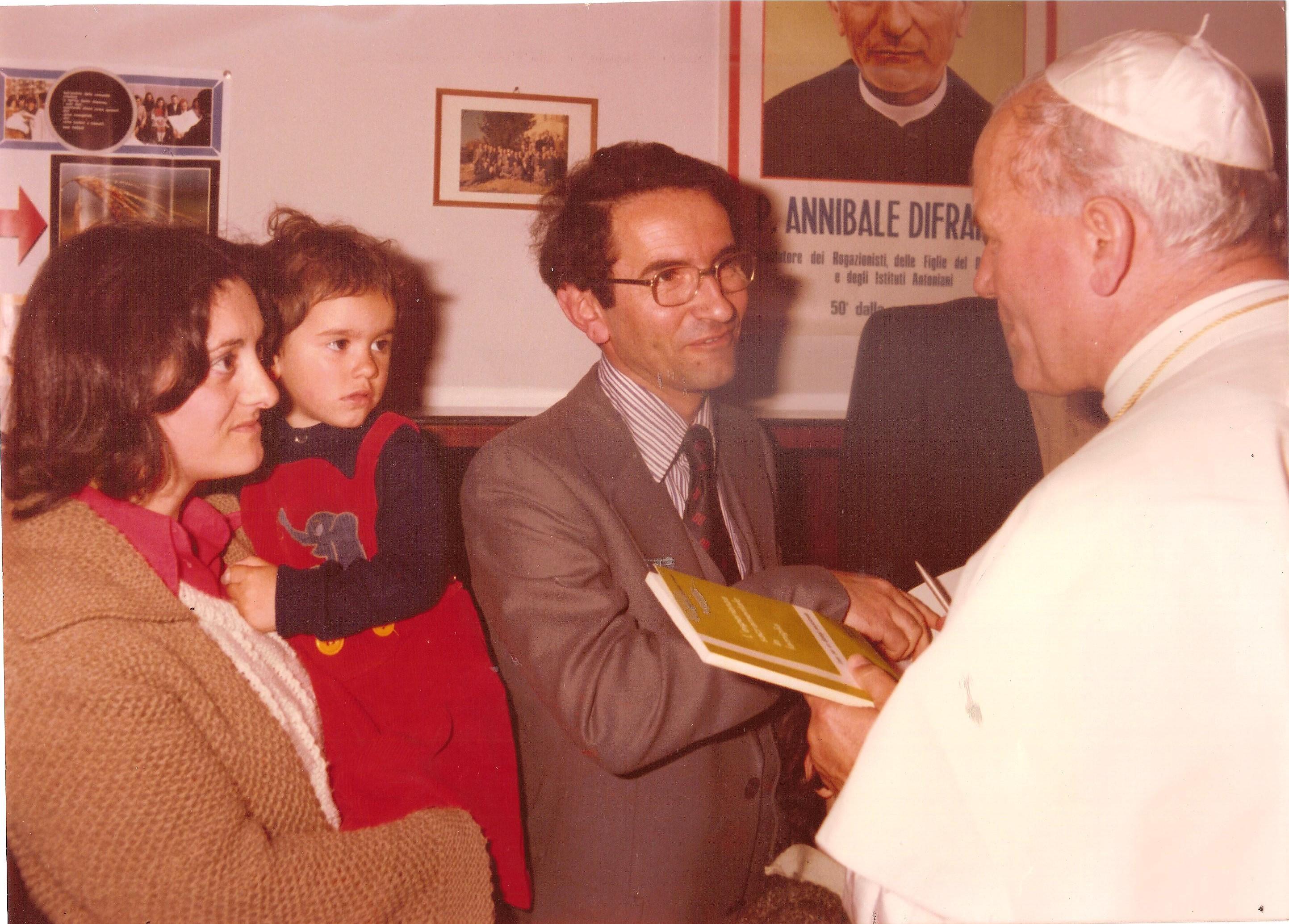 Con il Papa...